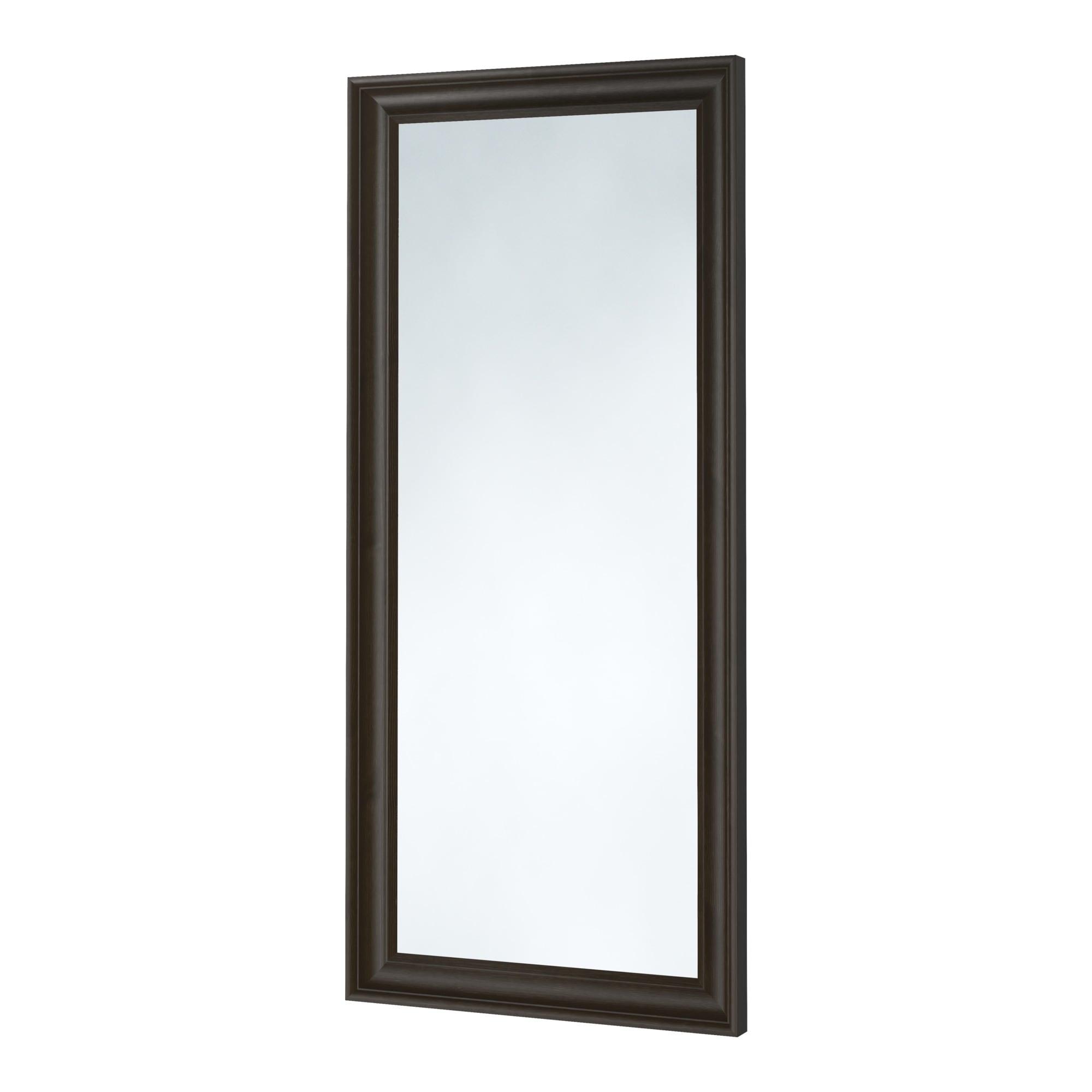 Hemnes Mirror Black Brown 29 1 8x65 Ikea Mirror Wall
