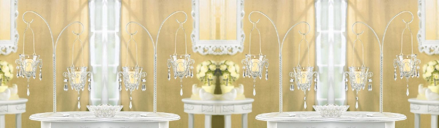 Pin by nanooks ebay store on mini chandelier votive stand 34693 mini chandelier votive stand centerpiece set of six wedding supplies 34693 aloadofball Choice Image