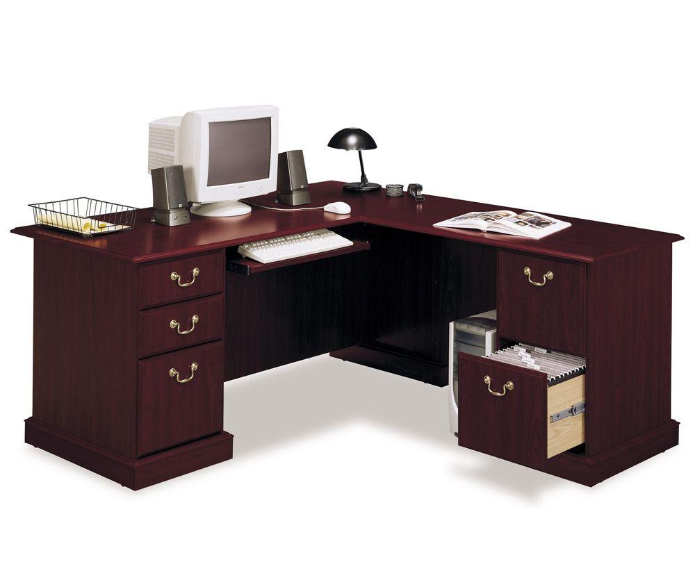 Fabulous Corner Computer Desks For Home Office Furniture Impressive Wooden Corner Computer Desk With Keyboard S Home Desk L Shaped Executive Desk Luxury Desk