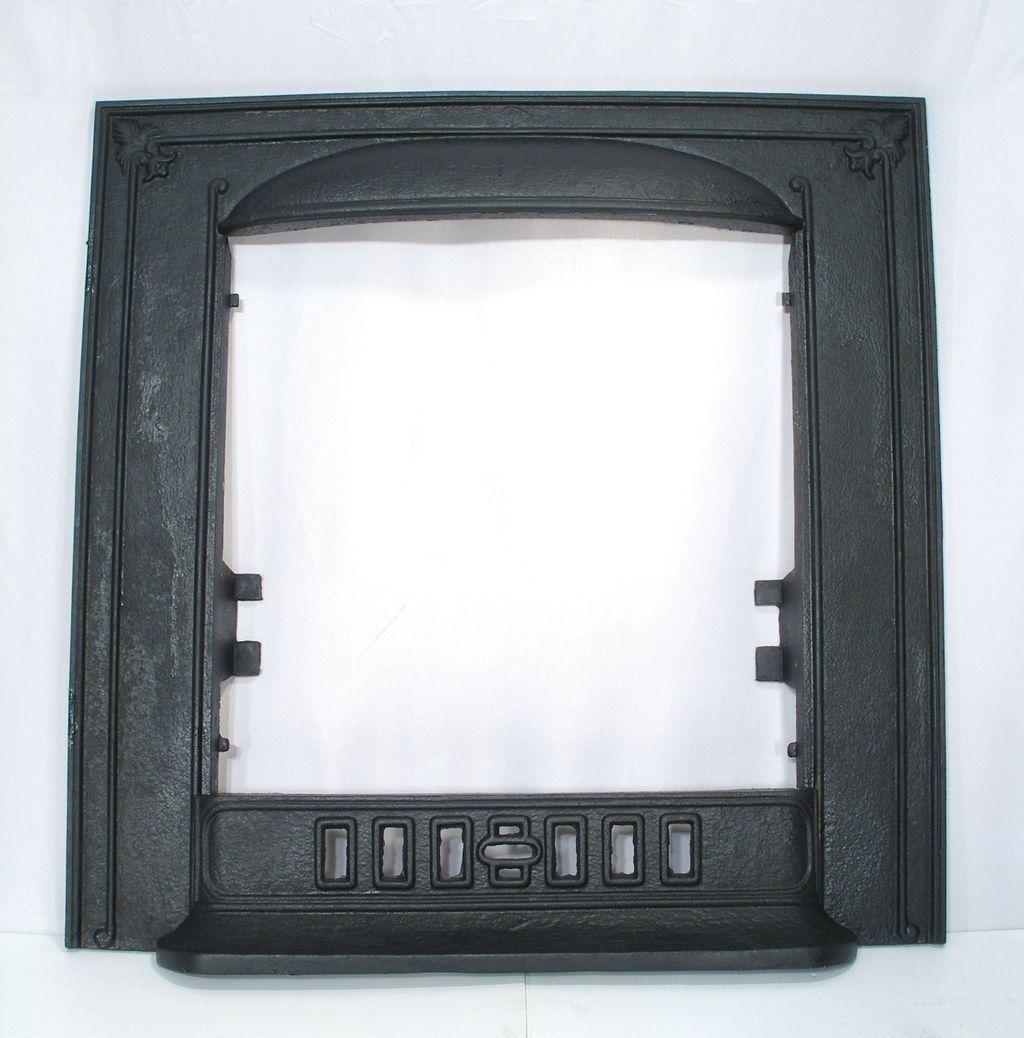 Cahill Cast Iron Fleur De Lis Door Frame Surround Fire Place Fender Set