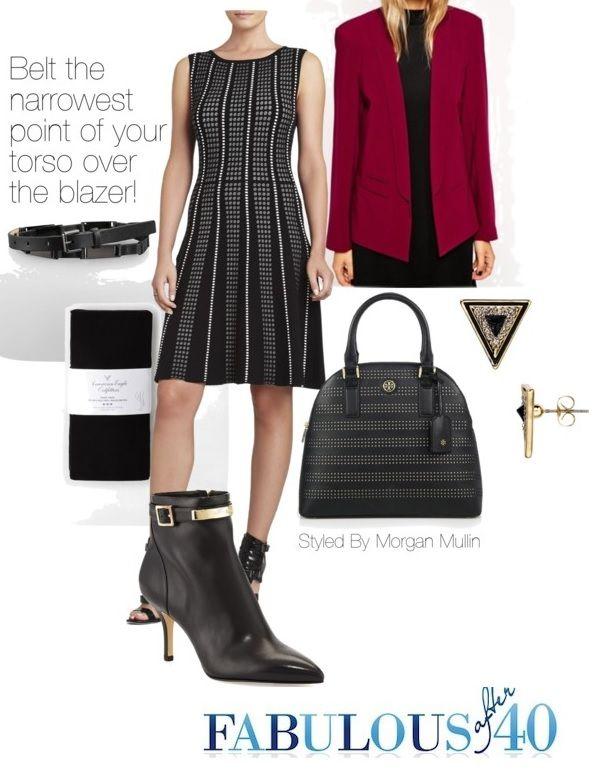 Black Boots Dress