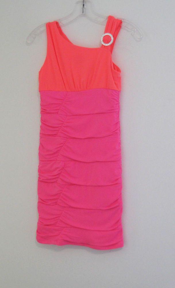 Amy's Closet Girls Ruched Sleeveless Dress Sz 12 - NWT #AmysCloset #Dressy