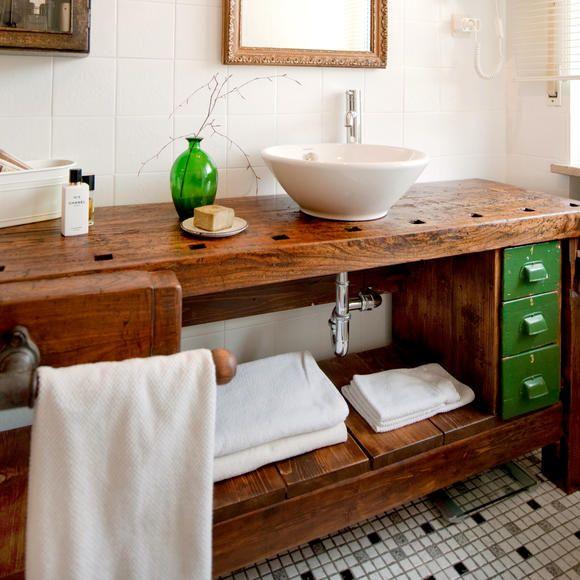Hobelbank Küche alte hobelbank als waschtisch bath and interiors