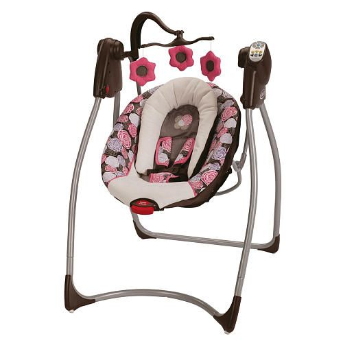 Graco Comfy Cove DLX Swing  Chelle  baby girl