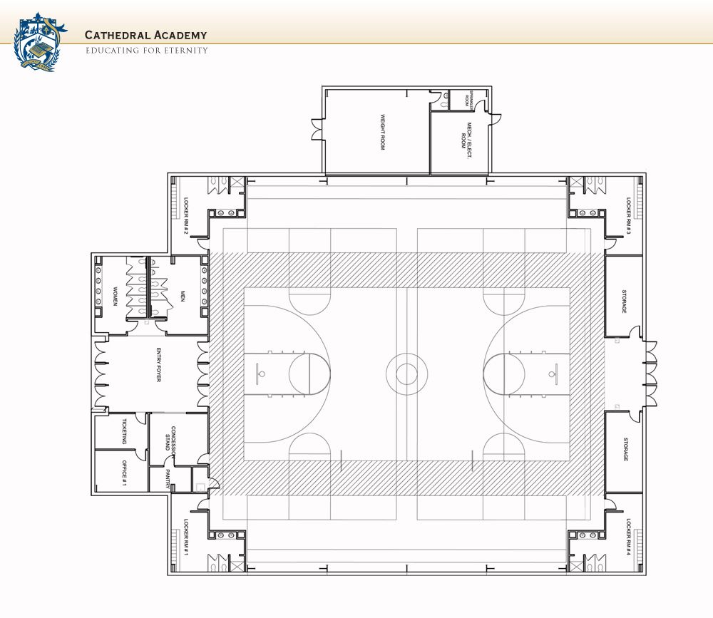 Gym floor plan design schools pinterest for Basketball gym floor plan