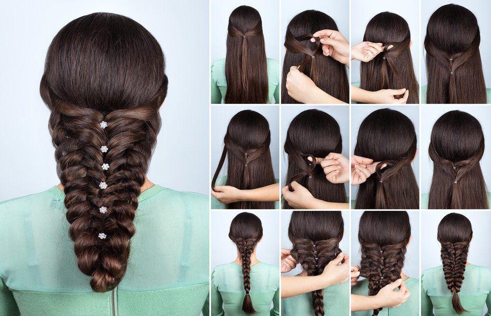 Pin Auf Frisuren Anleitungen