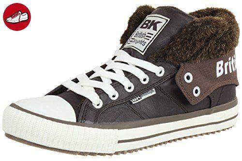 British WinterChaussuresFemme Gefüttert Bk Knights Sneaker Roco bY76yfg