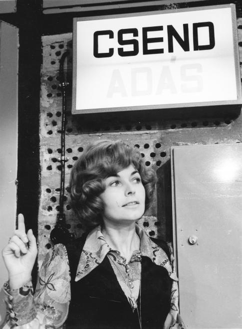 Takács Marika 1970-ben