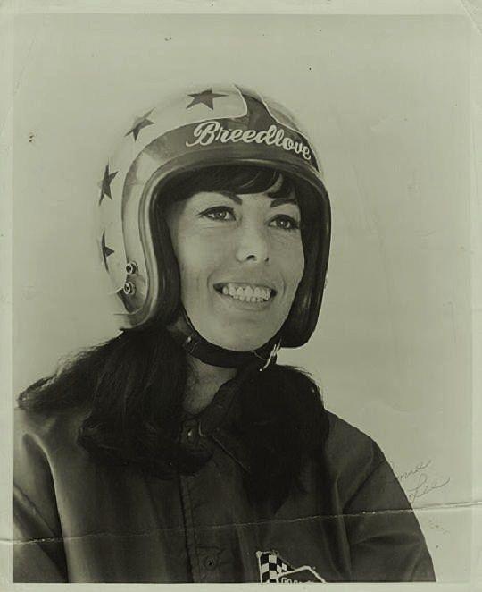 The Magnetic Brain Female Race Car Driver Vintage Racing Race Cars