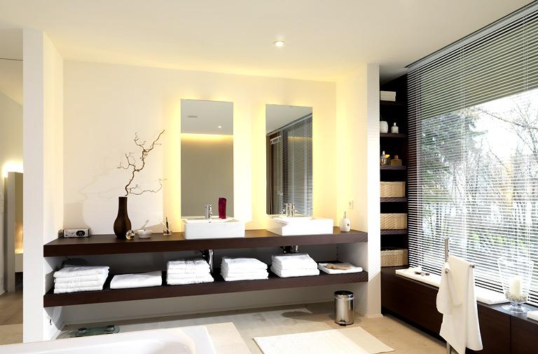 fotostrecke pure entspannung freiraum im bad in 2018 bath pinterest bad indirekte. Black Bedroom Furniture Sets. Home Design Ideas