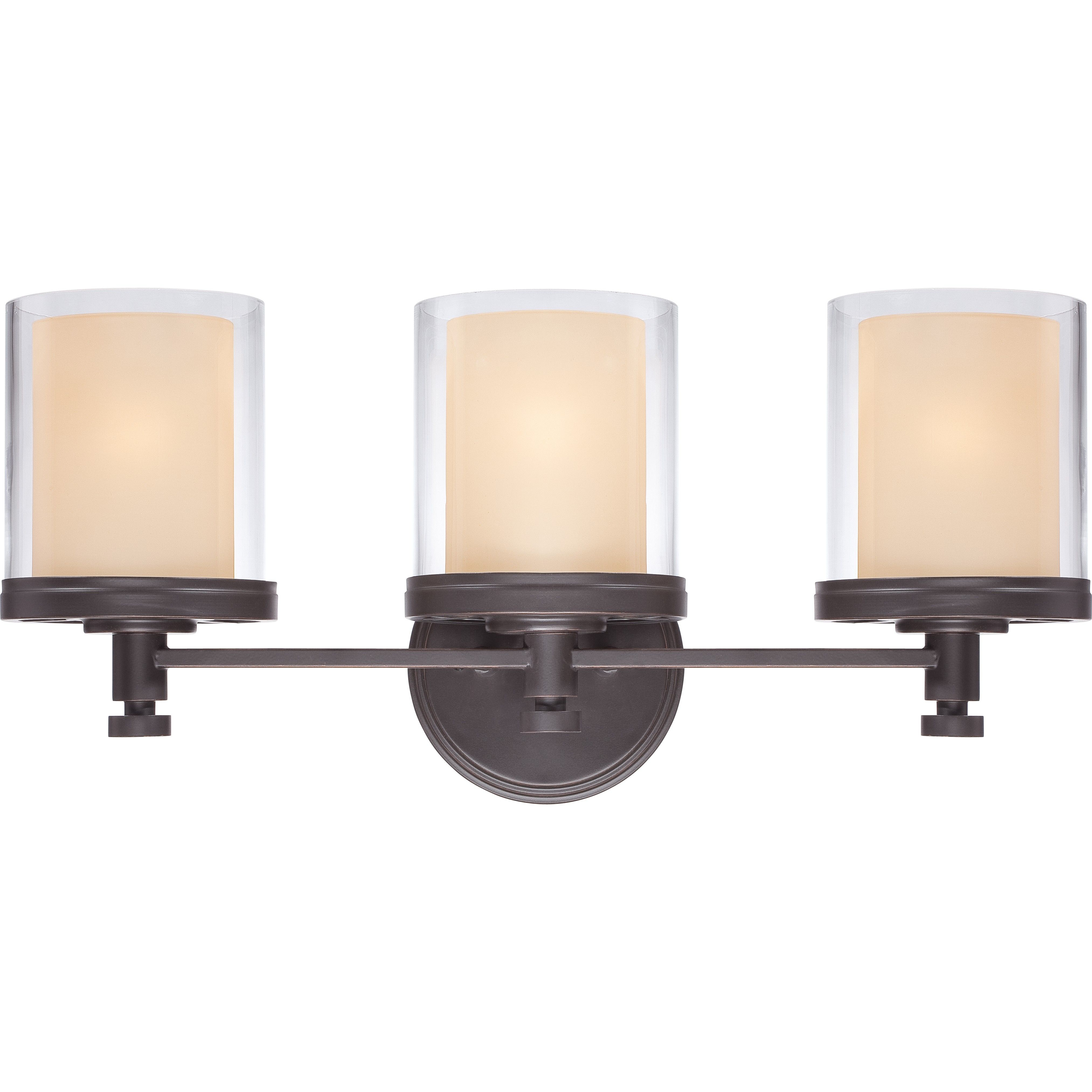 Nuvo 60 4543 3 Light Vanity Fixture Decker Collection