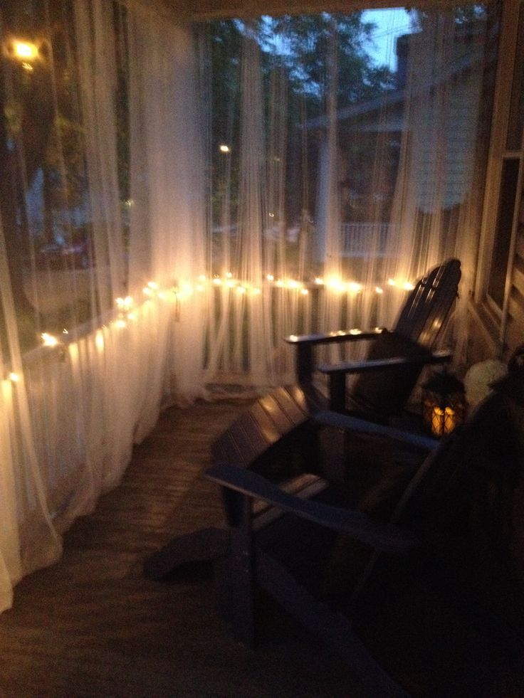 My 35 Screened Porch Ikea Lill Curtains 4 A Pair X 4 8 1 50
