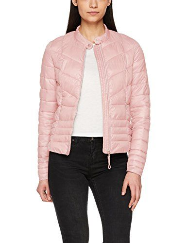 Fabricant Blouson rose Vmfenna Jacket Rose Vero taille silver 40 Detail Short Noos Large Trimming Soraya Manteaux Shadow Femme Moda qaxxzYw4