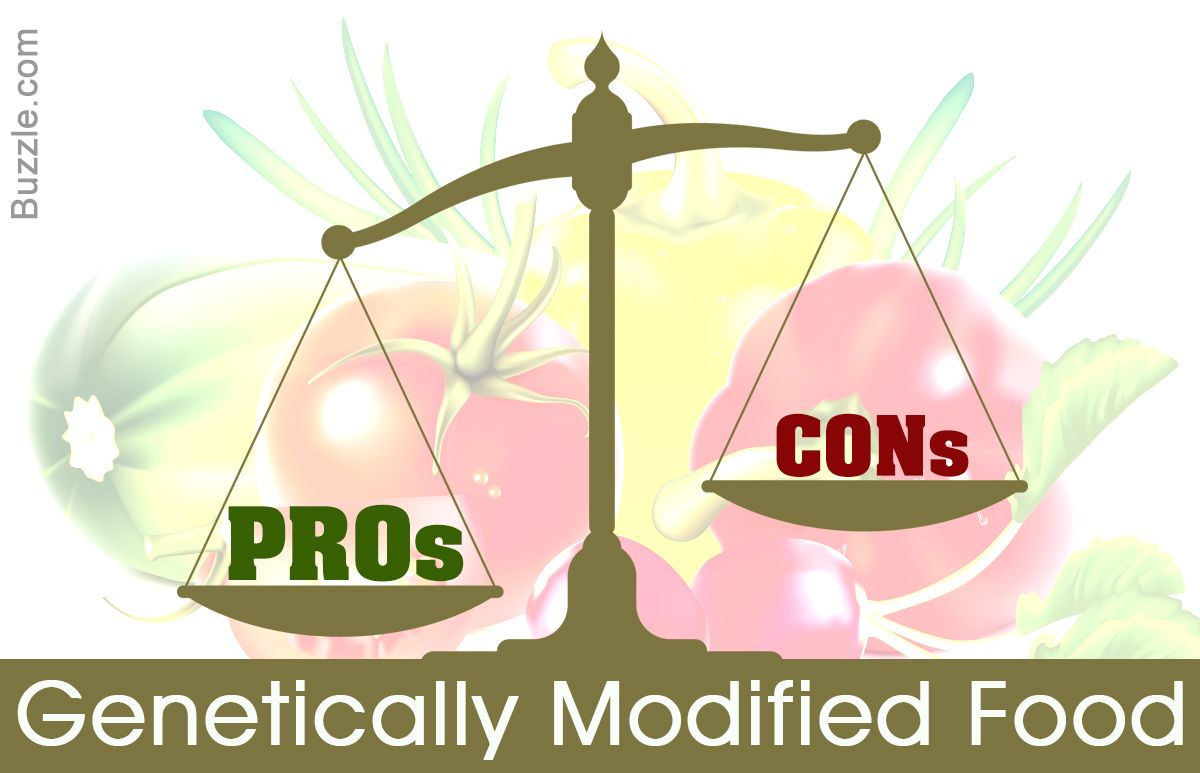 Showing True Colors Pros And Cons Of Genetically Modified Food