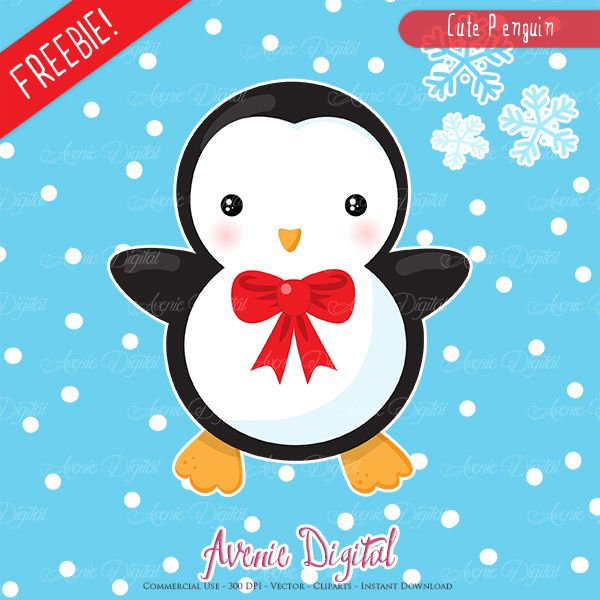 Cute Cartoon Penguin Surrounded By Snowy Border Royalty Free Cliparts,  Vectors, And Stock Illustration. Image 5705330.