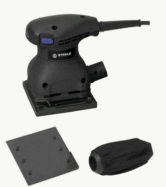 Save $ -3.31 order now Steele Products SP-PT220 Soft-grip 1/4 Sheet Palm Sander