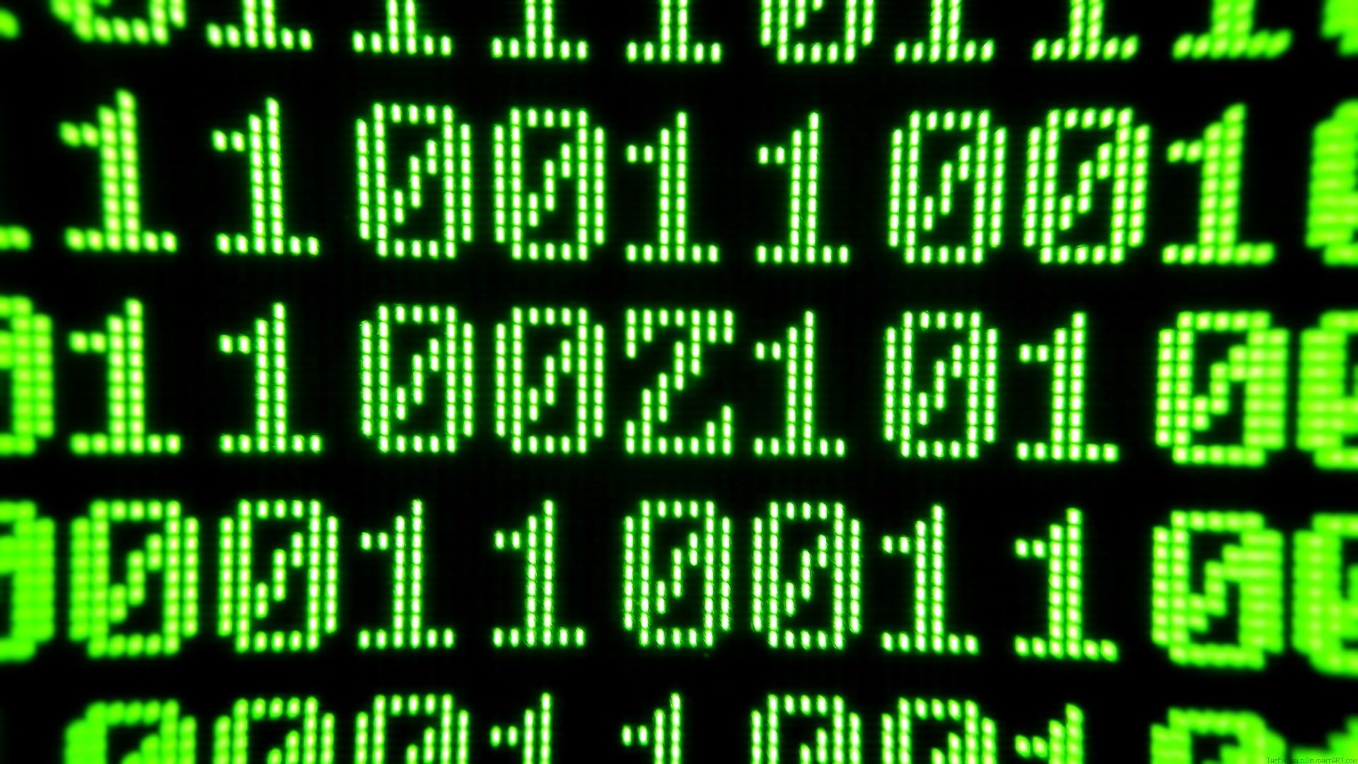 Green And Black Number Codes Green Black Contrast The Matrix Pixels Binary Code Computer 1080p Code Wallpaper Iphone Wallpaper Green Samsung Wallpaper