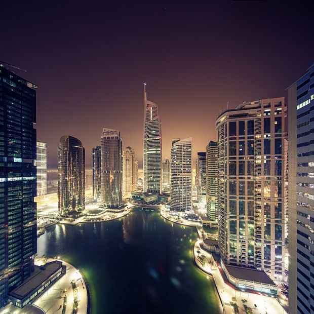 it's like an imaginary place you'd see in a film - Dubai