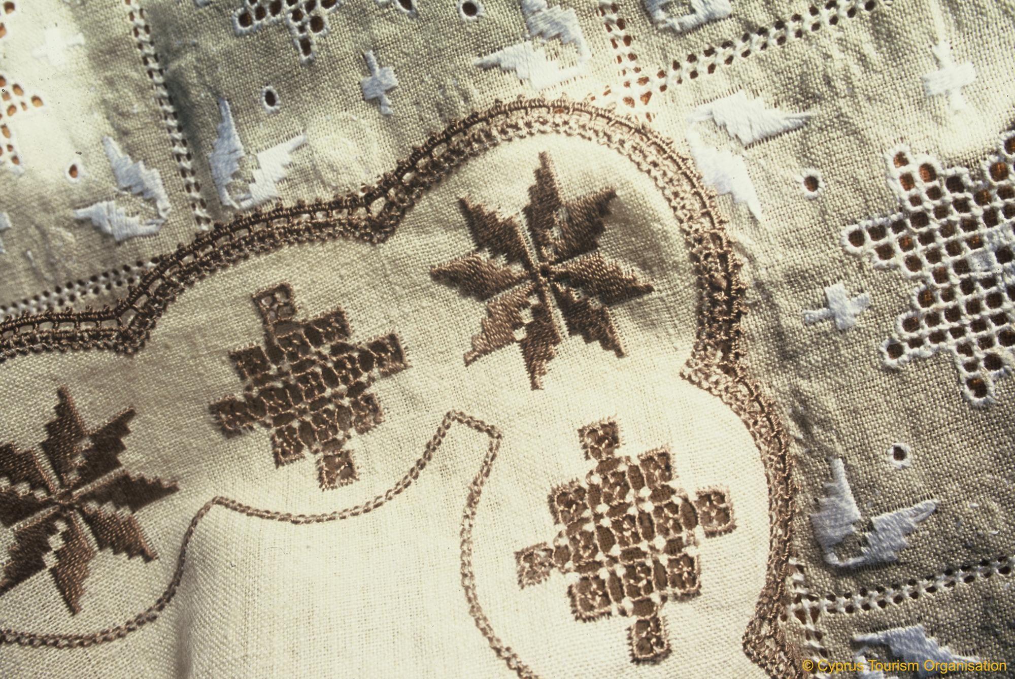 Cyprus Lefkara Lefkaritika Handicrafts