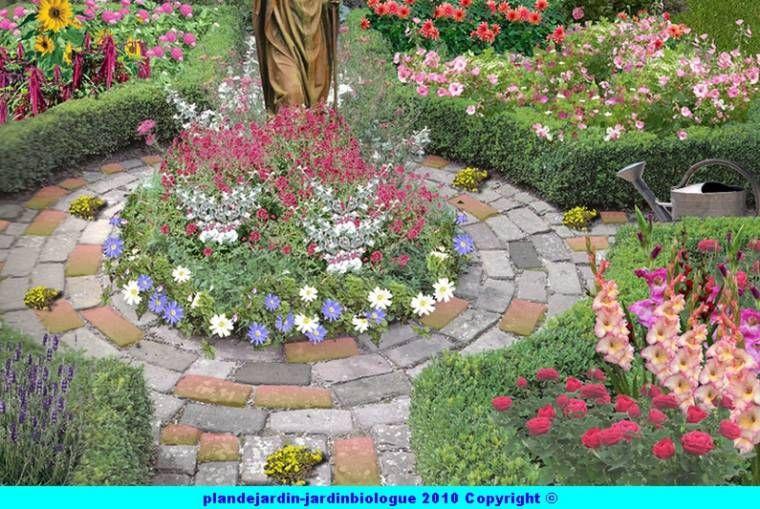 Plan De Jardin De Cure Plan Jardin Jardin De Cure Jardins