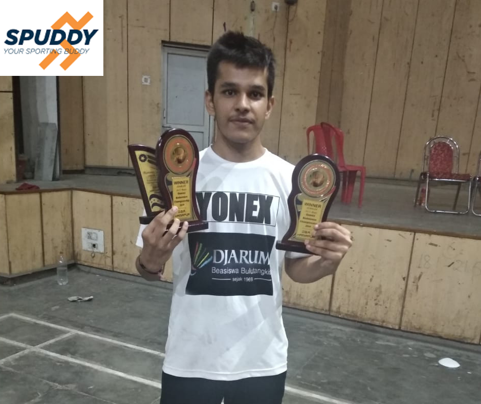 Indoor Badminton Academy And Courts Spuddy Badminton Club Gurgaon Noida With Images Badminton Club Badminton Badminton Court