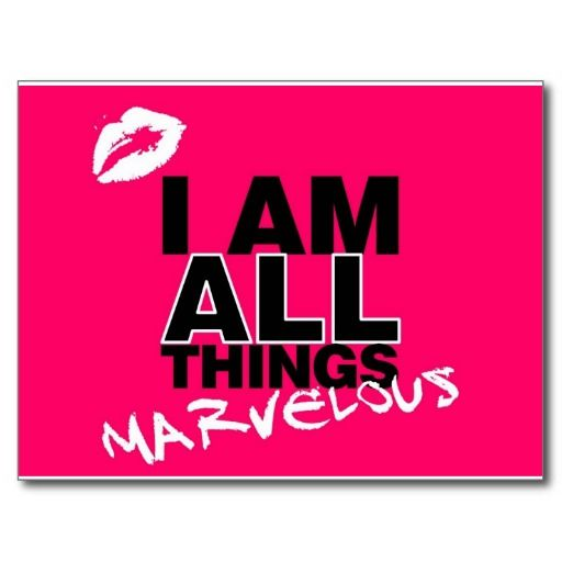 everything pink | All Things Pink Postcards