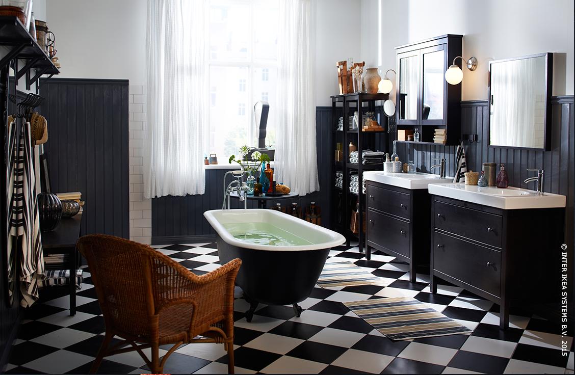 Relax in de badkamer. (HEMNES badkamer serie) | Creative spots ...