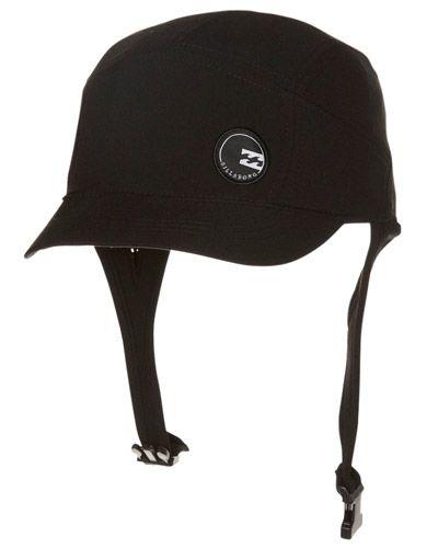 Billabong Supreme Surf Cap Black Surf Hats Billabong Clothing Surfing
