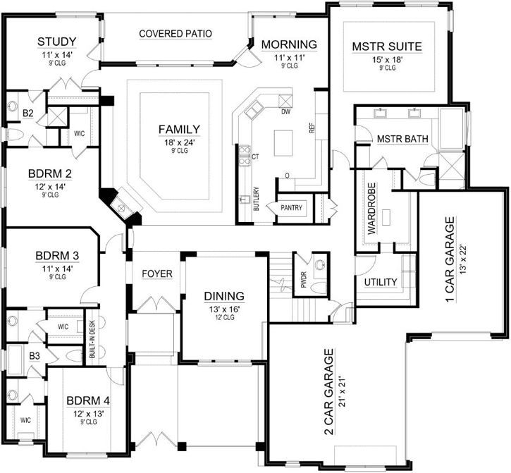 henry approved love that all three bedrooms share the same hallway duplex floor plansbarndominium floor planshouse - House Floor Plans