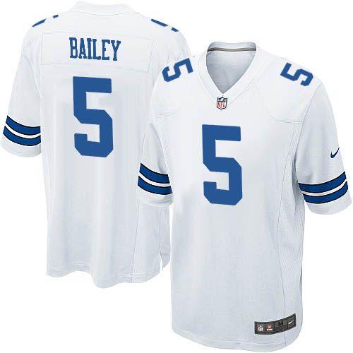 38cc9eb28 Youth Nike Dallas Cowboys  5 Dan Bailey Limited White NFL Jersey Sale  Raiders Khalil Mack 52 jersey