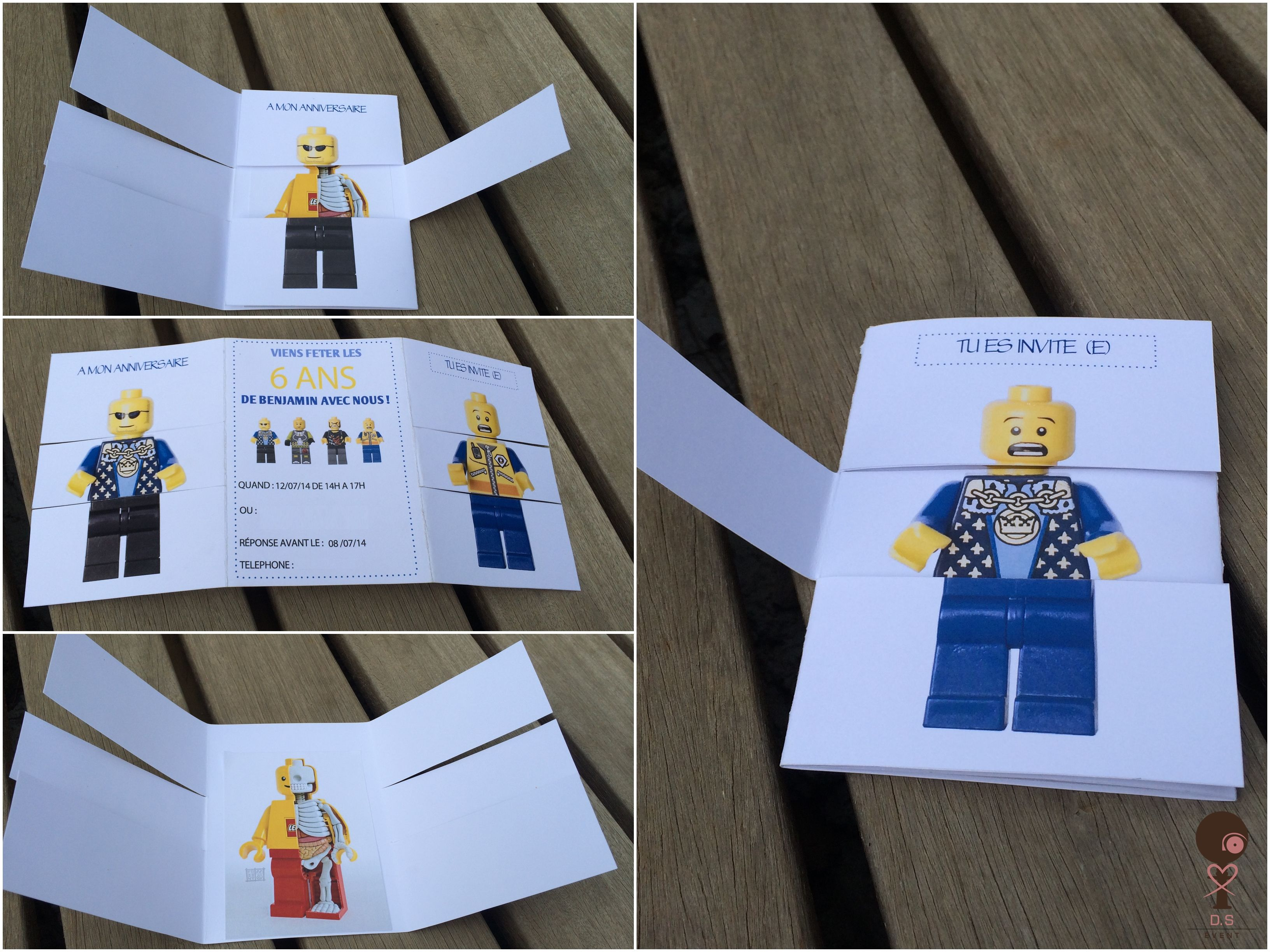 Top Invitation anniversaire lego | Divers | Pinterest | Anniversaire  LK26