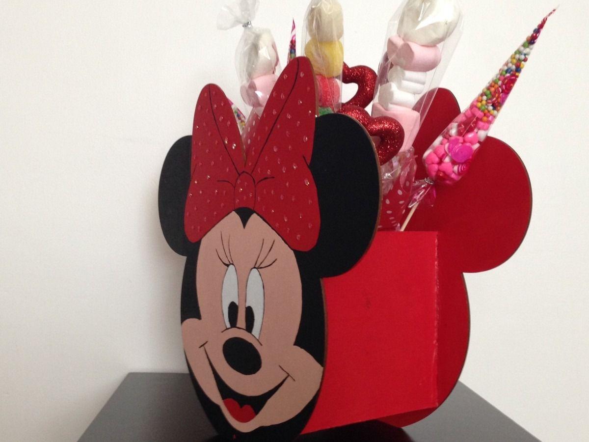 Dulceros de fieltro de mickey mouse 17 mejores ideas - Manualidades minnie mouse ...