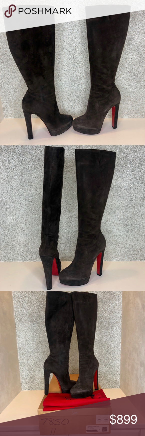 on sale cd3b2 7d95e Spotted while shopping on Poshmark: Louboutin BIBI BOTTA 140 ...