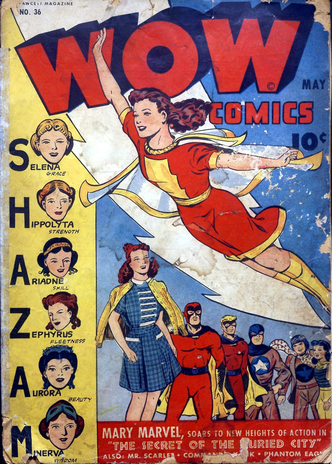Wow Comics #36, May 1945, Cover By Jack