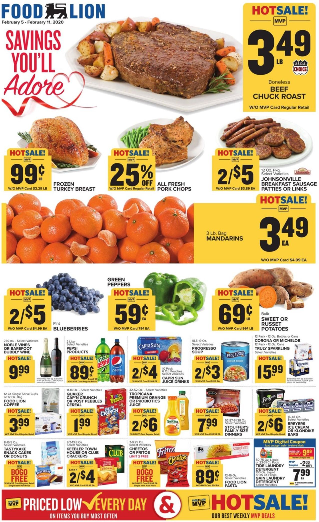 Food Lion Weekly 3 25 20 3 31 20 Ad Preview In 2020 Food Almond Pancakes Beef Chuck Roast