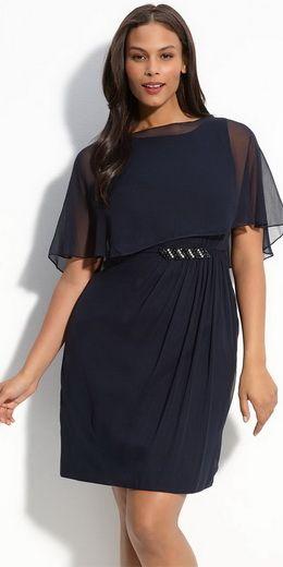 J модные вечерние платья для полных женщин