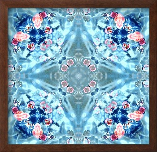 Water Mandala No 2 Photographic Print by Alaya Gadeh at AllPosters.com