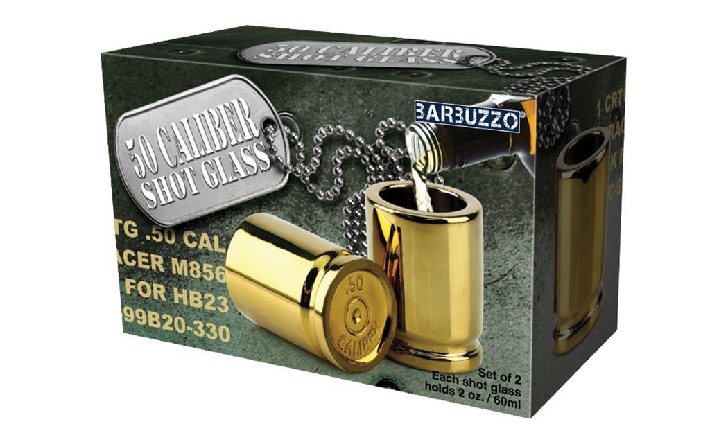 Barbuzzo gifts 50 caliber shot glass 50 caliber shot