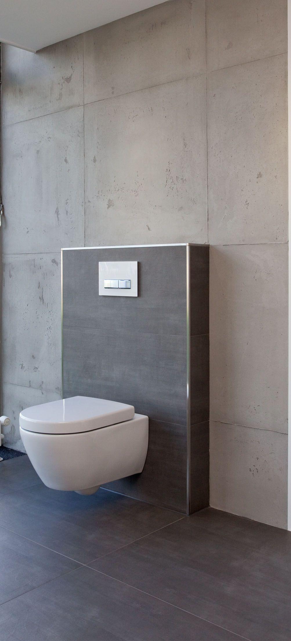 Badezimmer design neu fliesen in betonoptik kombiniert mit gespachteltem beton made by fr