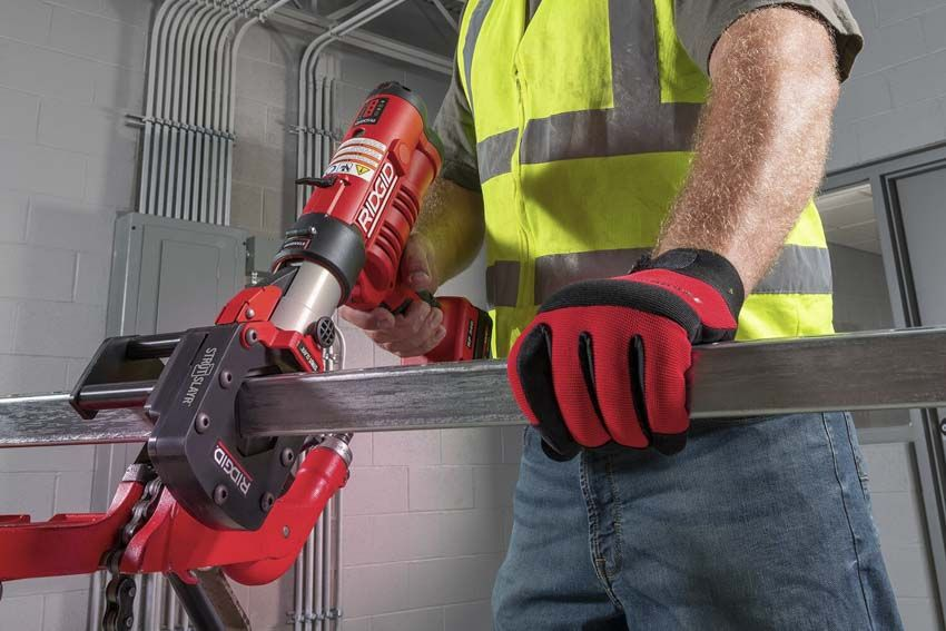 Ridgid Strutslayr Strut Your Stuff Without The Prefab With Images Portable Band Saw Prefab The Struts