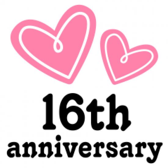 Weddinganniversary 16th Wedding Anniversary Anniversary Quotes Anniversary Wishes For Husband Happy 19th Anniversary