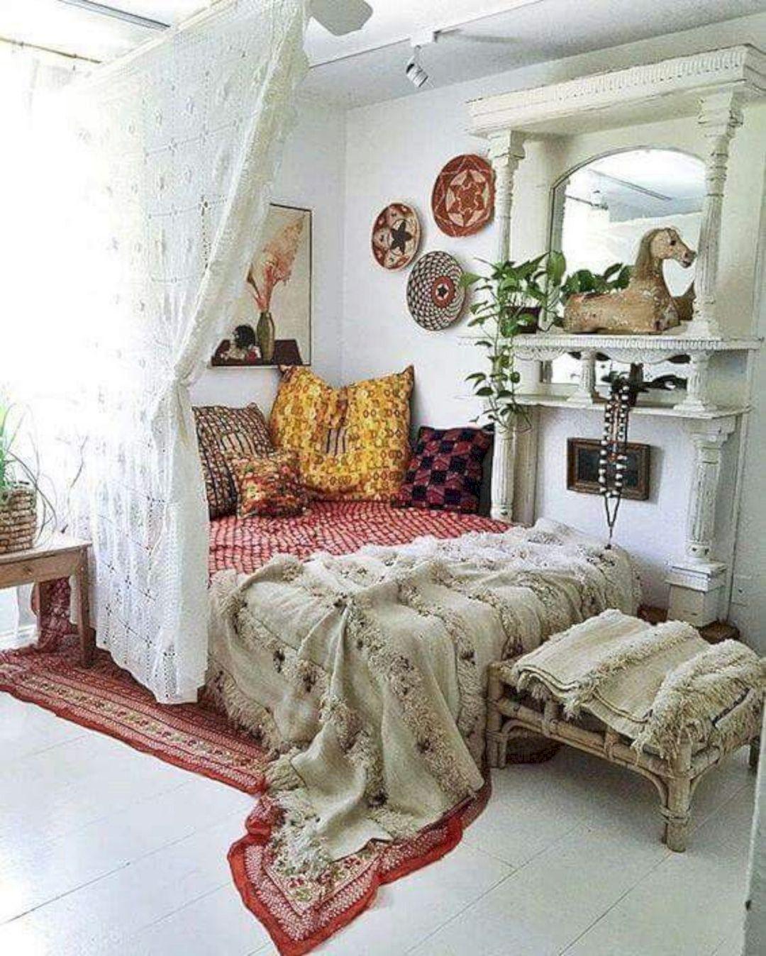 26 Funky Boho Comfy Bedroom Decoracao De Casa Arquitetura E Decoracao Interiores