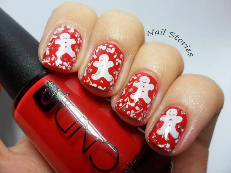 Christmas Nail Art Nail Art Pinterest Winter Nails Xmas Nails