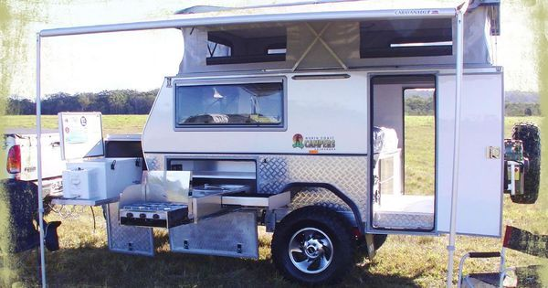 12 Ft St Camper Trailer Northcoast Campers Camper Trailers Camping Trailer Off Road Camper Trailer