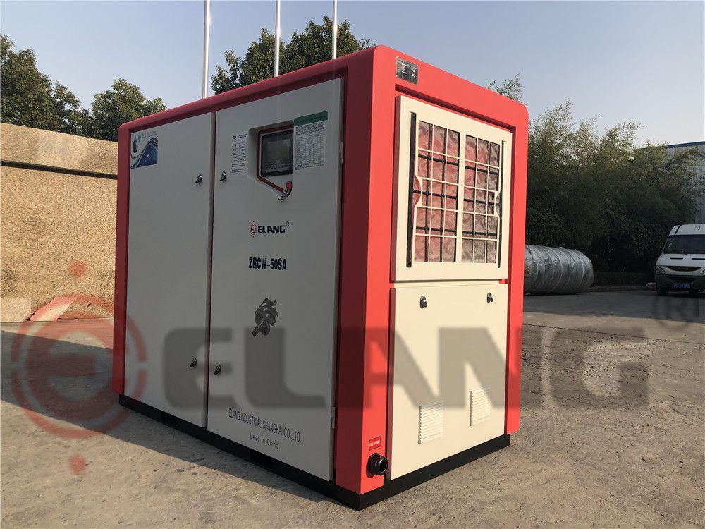 Compresordeaire Compresor de aire inyectado de agua sin