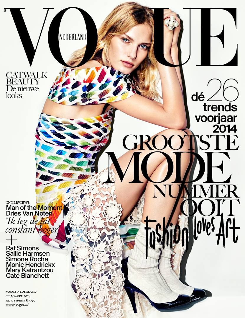 441118e0 VOGUE NEDERLAND | FASHION MAGAZINE COVERS WE LOVE: MARCH/14 ...