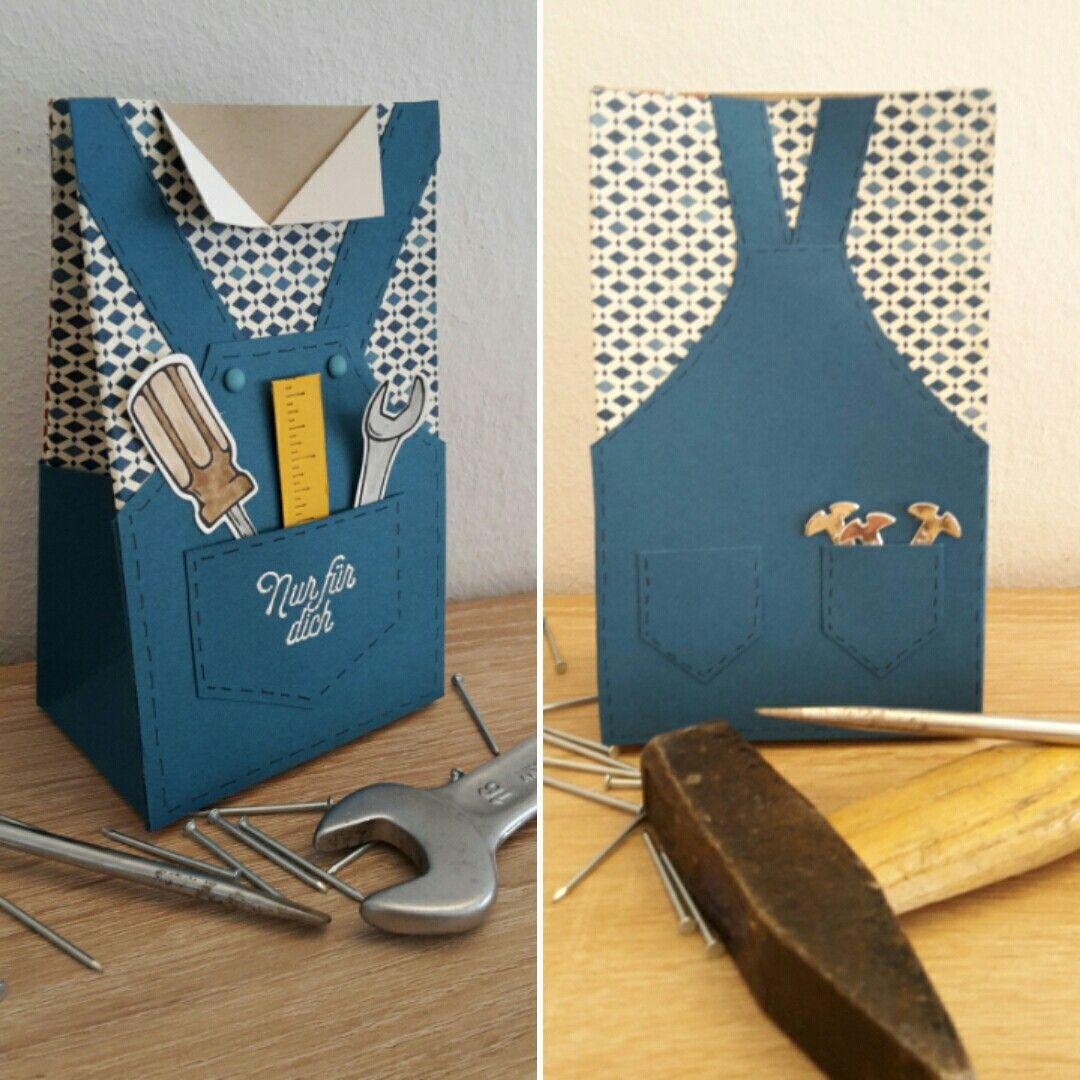 geschenkt te f r einen handwerker als dankesch n hammer stampinup geschenkt te masculine. Black Bedroom Furniture Sets. Home Design Ideas