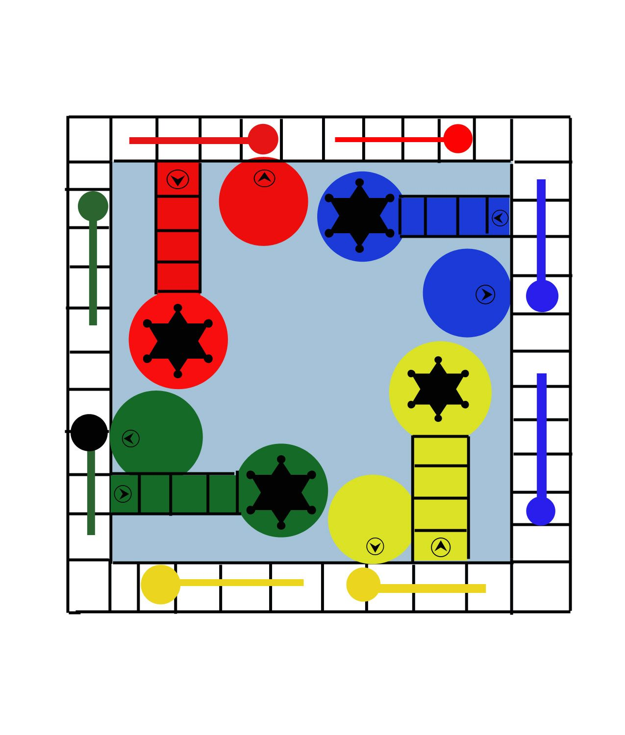 Sorry Game Board Use To Make Own Game Variation Workout Sorry