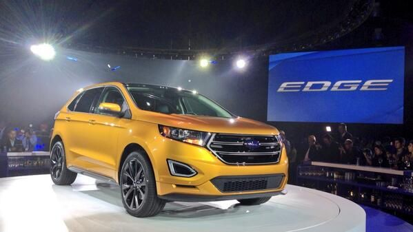 2015 Ford Edge Gold Color 2015 Ford Edge Photos