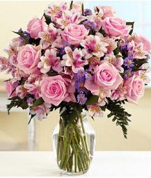 resultado de imagen para arreglos florales con astromelias y rosas